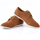 Jike Fashionable Men's Casual Shoes - Yellow Brown (Euro Size 42)