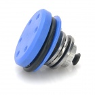 Universal Aluminum Bearing Piston Head for Pistol / Airsoft - Silver + Black + Blue