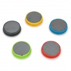 Funi CT-993 Clock Timing Shape Magnet Stickers - Green + Black + Yellow + Red + White (5 PCS)