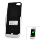 2800mAh External Mobile Power Battery Case for iPhone 5 - Black