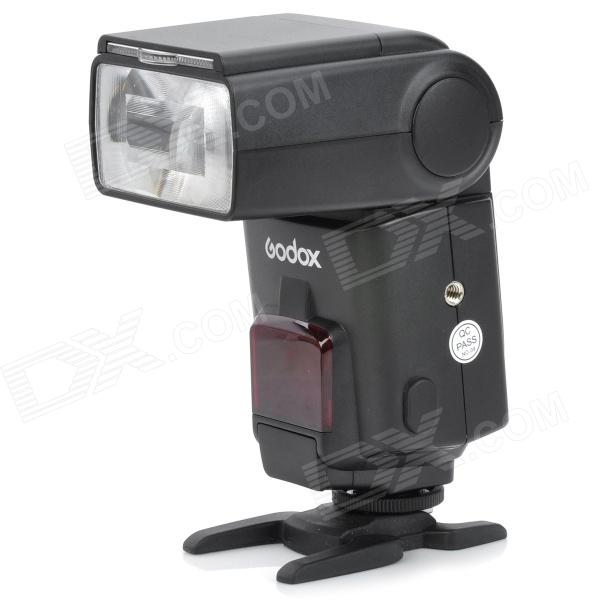 GODOX TT660 Manual Zoom Speedlit w/ 1-LED for Canon / Nikon / Pentax / Olympus - Black