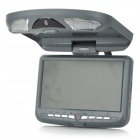 "XD906 9"" Resistive Touch Screen Car DVD Media Player w/ FM / IR / Games / Built-in Speaker - Grey"