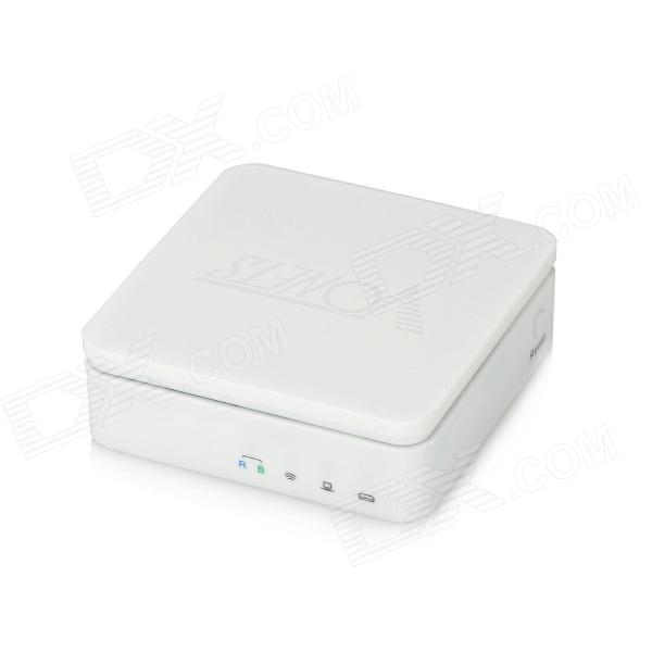 SH-VAR11N Mini 150Mbps IEE802.11b/g/n Wi-Fi Wireless Network Router + Intelligent Bridge - White
