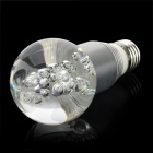 E27 3W 250lm RGB Multicolored Crystal LED Bulb Lamp w/ Remote Controller (85~265V)