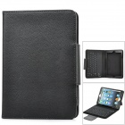 K61 Protective Silicone Wireless Bluetooth v3.0 77-key Keyboard Cover for iPad Mini - Black