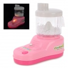 Mini Household Plastic Juicer Intelligence Toy for Children - Pink + Yellow + Red + White