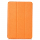 Protective PU Case w/ Stand for Ipad MINI - Orange