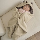 Little Devil Style Pure Cotton Sleeping Bag for Baby - Beige