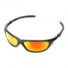 CARSHIRO 069 UV Protective Riding Polarized Resin Lens Sunglasses for Men - Black (Free Size)