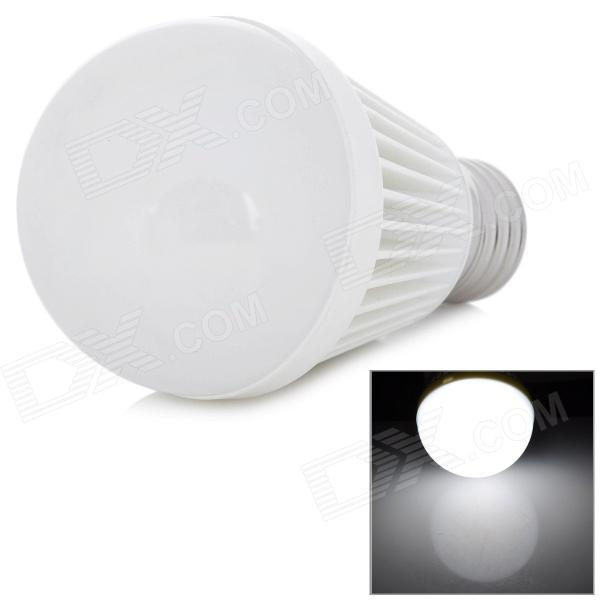 E27 7W 500lm 6300K legal LED de luz branca da lâmpada do bulbo (220V)