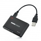 SSK SCRM-025 All-in-One USB 2.0 Card Reader for SD / MMC / MS / XD / CF / TF / M2 - Black
