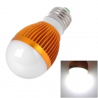 E27 3W 235lm 6500K 3-LED White Light Lamp (AC 85~265V)