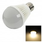 HL-9WW E27 9W 630lm 3300K Warm White 40-SMD 2835 LED Light Bulb - White + Silver (85~265V)