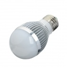 HS01003A E27 3W 6500K 235lm Cold White 3-LED Light Bulb - Silver (85~265V)