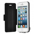 External 2600mAh Power Battery Charger Protective Case for iPhone 5 - Black