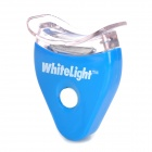 Teeth Whiten Light Transmitter w/ Dental Tray + Toothpaste - Blue (2 x CR2025)