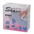 188 Clothes Plush / Fabric Fuzz Shaver Razor / Trimmer - White + Translucent Blue (2 x AA)