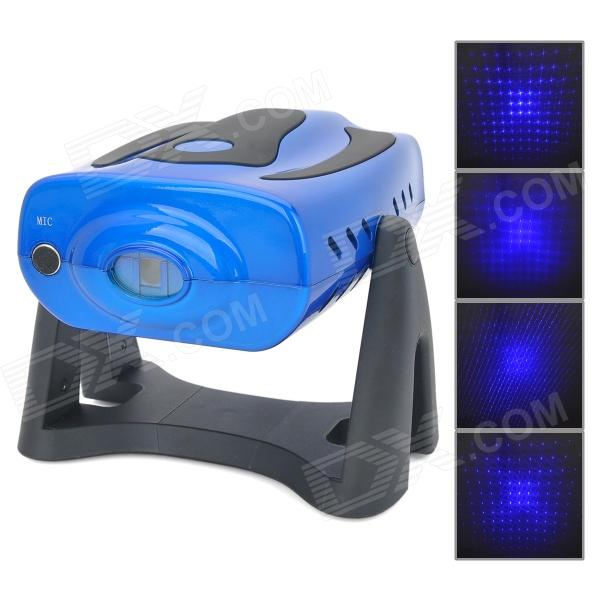 8-in-1 Night Sky's Stars 450nm Blue Laser Stage Lighting Projector (AC 110~240V)