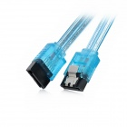SATA 3.0 Dual-Way 6Gbps Hard Drive Data Cable - Blue (50cm)