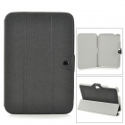 Stylish Protective PU Leather Case for Google Nexus 10 - Black