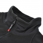 ACACIA 0254903 Bike Cycling Windproof Long Sleeve Fleeces Coat for Man - Black (Size L)