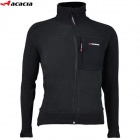 ACACIA 0254904 Bike Cycling Windproof Long Sleeve Fleeces Coat for Man - Black (Size XL)