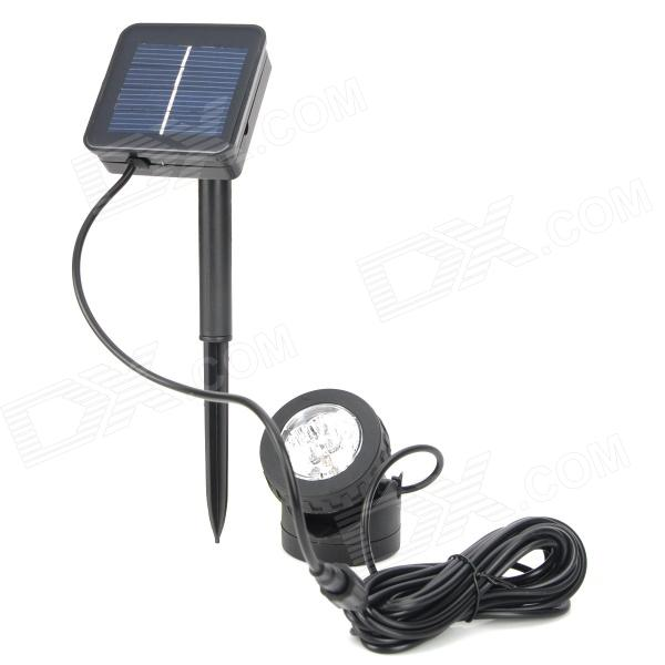 BSV BSV-SL006 Solar Powered 6-LED Amphibious Spotlight - Black bsv bsv sc007 portable solar charger bag black