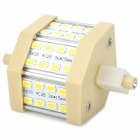 R7S 7W 650lm 24-SMD 5630 LED White Light Bulb (85-265V)