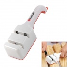Lmyh Family Kitchen Dual Slot Knife Sharpener - White