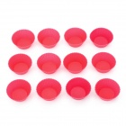 DIY Silicone Cake Mould - Deep Pink (12 PCS)