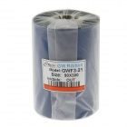 GWF3-21 Wax Thermal Transfer Ribbon for Zebra / Saito / Toshiba + More Label Printer (90mm x 300m)