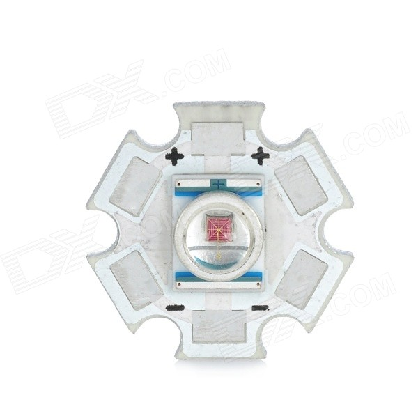 LED 620 ~ 625nm Red Light Bulb Plate - Prata