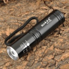 SLH SLH-H536 200lm 3-Mode White Zooming Flashlight w/ Cree XP-E R2 - Black (1 x AA / 1 x 14500)