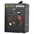 Syllable G08-001 Folding Design Wireless Bluetooth V2.0 Stereo Headphones w/ Mic - Black