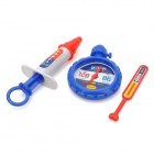 Doctor Medical Kit Toy for Kids - Red + Blue + Yellow