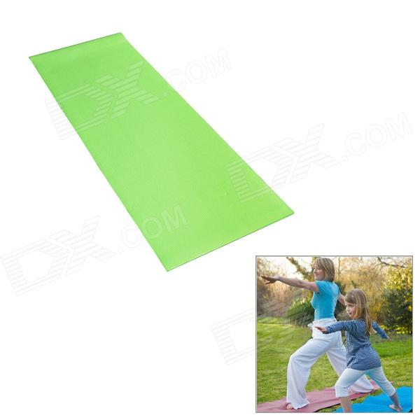 HS-HP1216 Non-Slip PVC Yoga Mat - GreenYoga<br>ModelHS-HP1216Quantity1ColorGreenMaterialPVCFunctionsThe mat has resilience, in the middle of the mat, there is a layer of tear-resistant cotton, durable, hard to be torn out; Youll especially love its cushiony quality during restorative poses; A thick, long, non-slip mat is good for all types of yoga and ideal for the yogi on-the-goBest useYoga matPacking List1 x Yoga mat<br>
