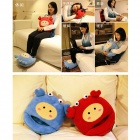 YiPinTang LJW-026 Crab Style USB Power Coral Fleece Foot Warmer Shoe - Blue + Grey