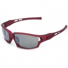 BaoLiNa 5011 Sports Riding Windproof UV400 Protection Goggles Sunglasses - Brownish Red