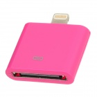 8-Pin-Stecker an 30-pin Female Blitz-Adapter für iPad Mini / iPhone 5 / iPod Touch 5 - Deep Pink