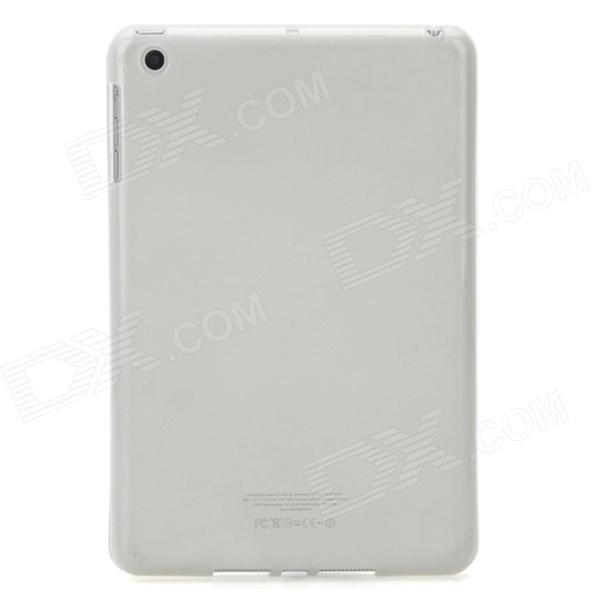 Protective TPU Back Case for iPad Mini - Translucent White