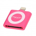 30-Pin-Buchse auf 8-pin Male Blitz-Adapter für iPad Mini / iPhone 5 / iPod Touch 5 - Pink