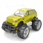 ZhengCheng 333-4T12 1:14 Scale Rechargeable 3-CH 27MHz Radio Control R/C Car Model Toy - Yellowgreen
