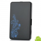 M6 Android 4.0 Dual Core 1.6GHz Google TV Player w/ Wi-Fi / 1GB RAM / 4GB Nand Flash - Black + Blue