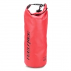 FEELFREE XQQ-FJ-39 Waterproof PVC Dry Tube Bag w/ Strap - Red (15L)