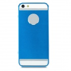 Ultra-Thin Protective Titanium Alloy Full Body Case for Iphone 5 - Blue