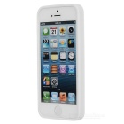 Protective Silicone Bumper Frame for Iphone 5 - White