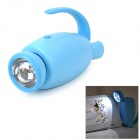 YiPinTang LJC-081 Cat Style AC Power 0.5W LED White Flashlight / Table Lamp - Blue