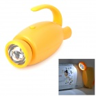 YiPinTang LJC-081 Cat Style AC Power 0.5W LED White Flashlight / Table Lamp - Yellow