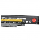 6-Cell 57Wh 10.8V Genuine Laptop Battery for IBM T60p + R60e + More - Black