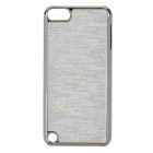Protective Electroplating PC Back Case for iPod Touch 5 - Silver